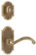 "2 1/2"" x 5 1/2"" Arched Escutcheon"