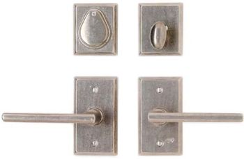 "2 1/2"" x 4 1/2"" Rectangular Escutcheon"