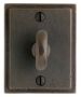 "2 1/2"" x 3 1/8"" Stepped Escutcheon"