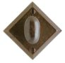 "3 9/16"" x 3 9/16"" Diamond Escutcheon"