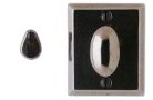 "2 1/2"" x 3"" Rectangular Escutcheon"