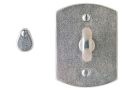"2 1/2"" x 3 3/8"" Curved Escutcheon"