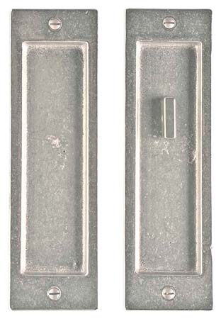 "2 1/2"" x 8 1/2"" Rectangular Escutcheon Lock"